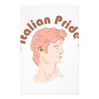 Italian Pride Customized Stationery