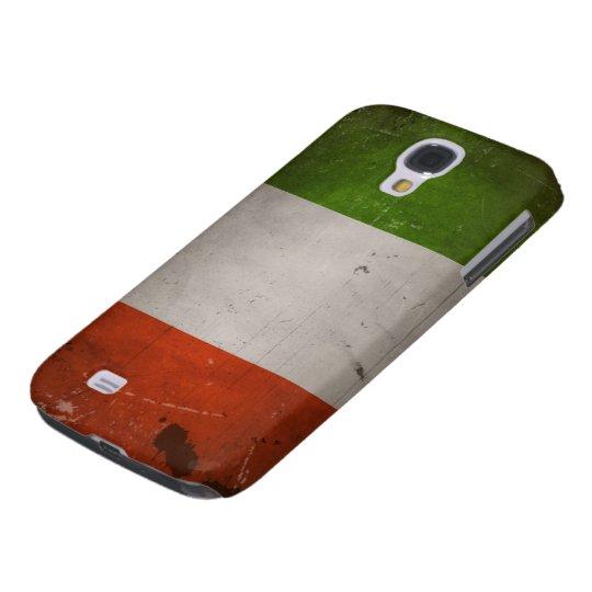 Italian Pride/Vintage Grungy Italy Flag Galaxy S4 Case