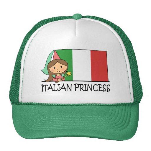 Italian Princess Cap Mesh Hat
