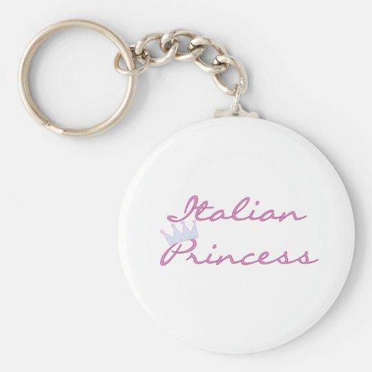 Italian Princess Key Ring
