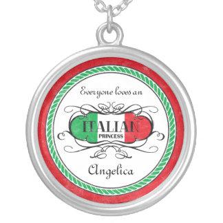 Italian Princess Personalized Necklace