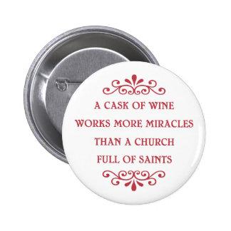 Italian Proverb - CF 6 Cm Round Badge