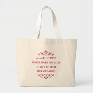 Italian Proverb - CF Large Tote Bag