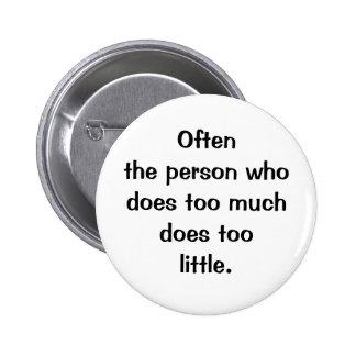 Italian Proverb No.129 Button