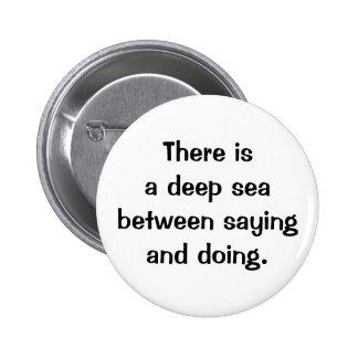 Italian Proverb No.178 Button