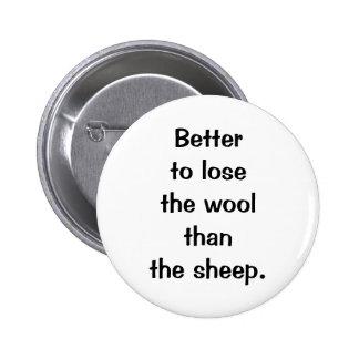 Italian Proverb No 17 Button