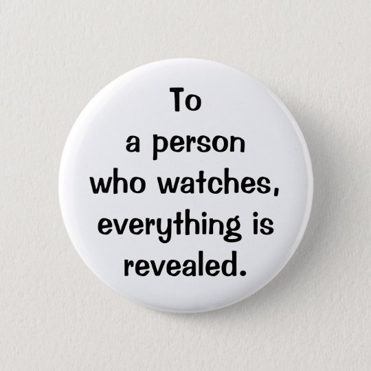 Italian Proverb No.183 Button