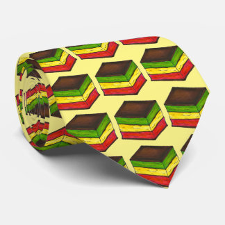Italian Rainbow Seven Layer Christmas Cookie Tie