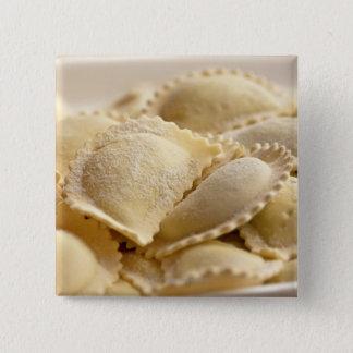 italian ravioli 15 cm square badge