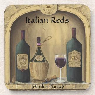 Italian Reds Coaster