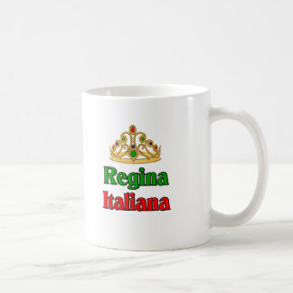 Italian Regina (Italian Queen) Basic White Mug