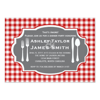 Italian Rehearsal Dinner Invitation