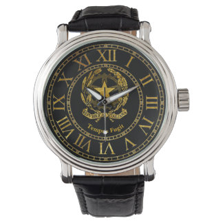 Italian Republic Gold Personalize Wrist Watches