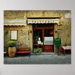 Italian restaurant poster