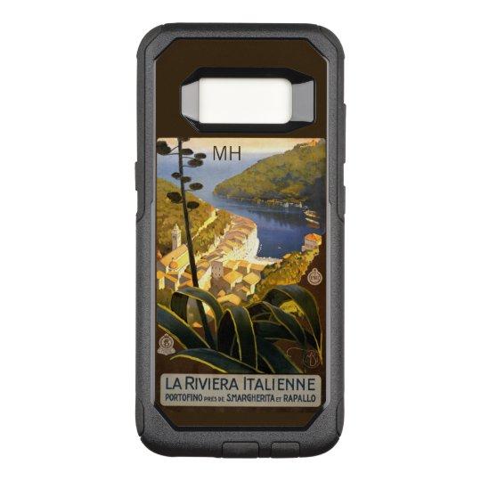 Italian Riviera custom monogram phone cases