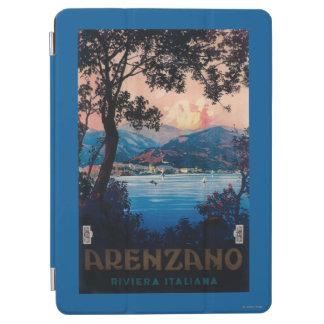 Italian Riviera Travel Poster iPad Air Cover