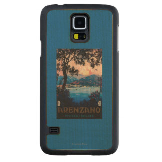 Italian Riviera Travel Poster Maple Galaxy S5 Case
