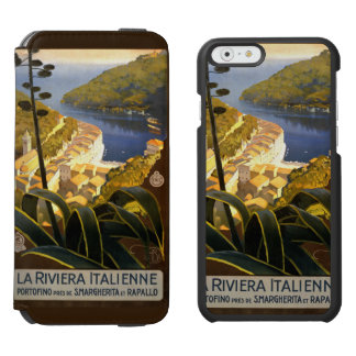 Italian Riviera vintage travel cases Incipio Watson™ iPhone 6 Wallet Case