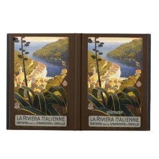Italian Riviera vintage travel device cases