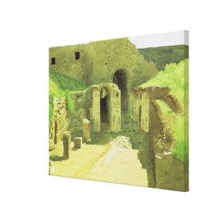 Italian Ruins, 1876 Canvas Print