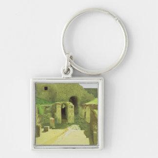 Italian Ruins, 1876 Key Chains