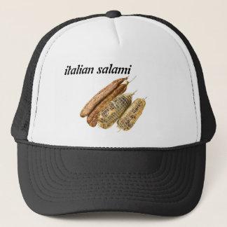 italian salami trucker hat