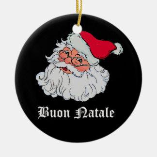Italian Santa Claus #2 Christmas Ornament