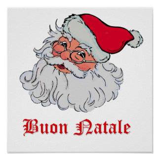 Italian Santa Claus #2 Posters