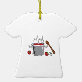 ITALIAN SAUCE COOKING CERAMIC T-Shirt DECORATION