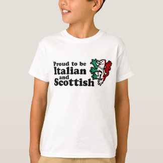 Italian Scottish T-Shirt