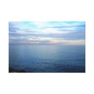 Italian sea landscape canvas print