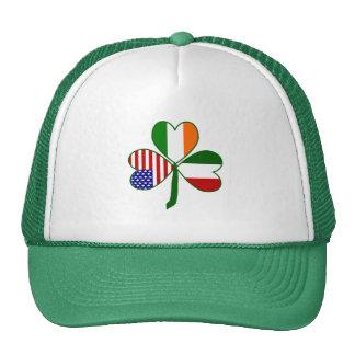 Italian Shamrock Cap