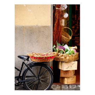 Italian Shop Front Postcard