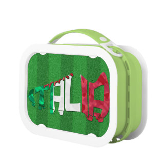 Italian Soccer Cleat Lunch Box