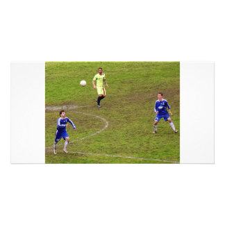 ITALIAN SOCCER PHOTOS PHOTO CARD