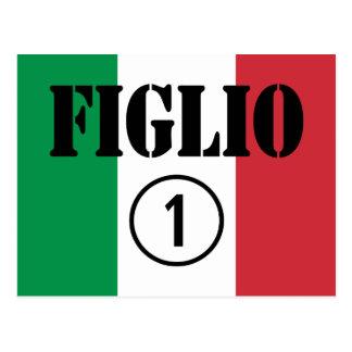 Italian Sons : Figlio Numero Uno Postcard
