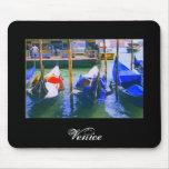 Italian Souvenir Gift Gondolas of Venice Mousepad
