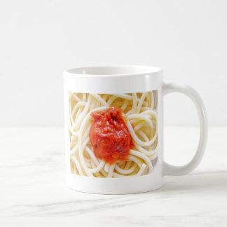 Italian Spaghetti Pasta With Tomato Sausage Top Coffee Mug