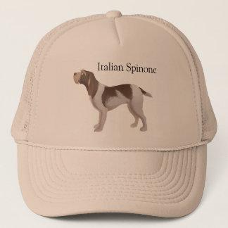 Italian Spinone brown roan hat