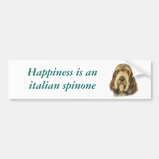 Italian Spinone Bumper Sticker