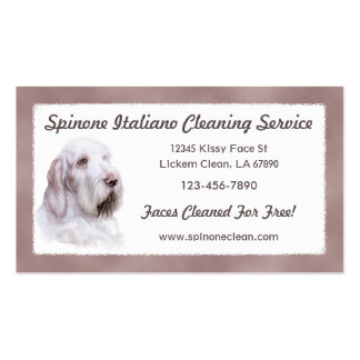 Italian Spinone Italiano Pack Of Standard Business Cards