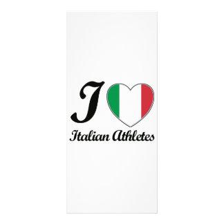 italian sport designs full color rack card