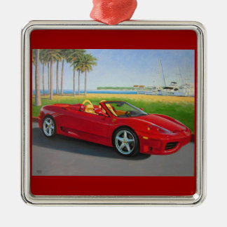 Italian Sports Car ornament