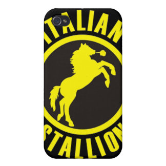 Italian Stallion Fitted Hard Shell Case for Apple Cover For iPhone 4