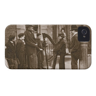 Italian Street Musicians, from 'Street Life in Lon iPhone 4 Case-Mate Case