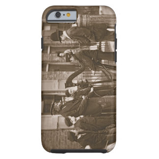 Italian Street Musicians, from 'Street Life in Lon Tough iPhone 6 Case