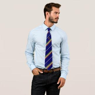 Italian stripes flag tie