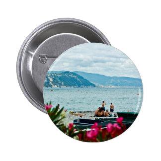 Italian Summer 6 Cm Round Badge