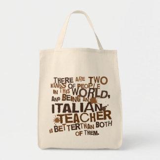Italian Teacher Gift Tote Bag