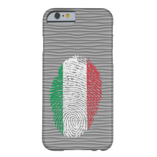Italian touch fingerprint flag barely there iPhone 6 case